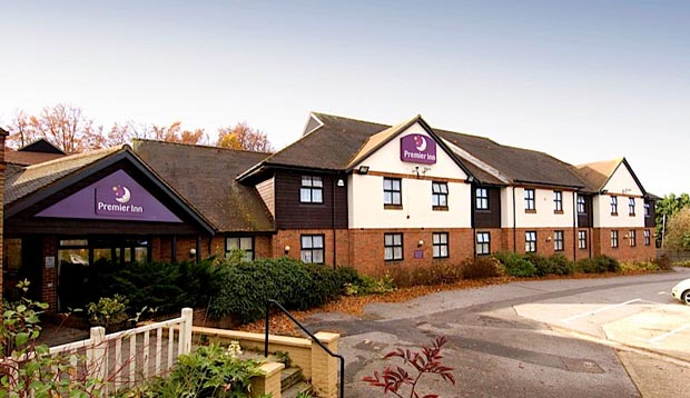 Exterior at Premier Inn Maidstone (Allington) hotel