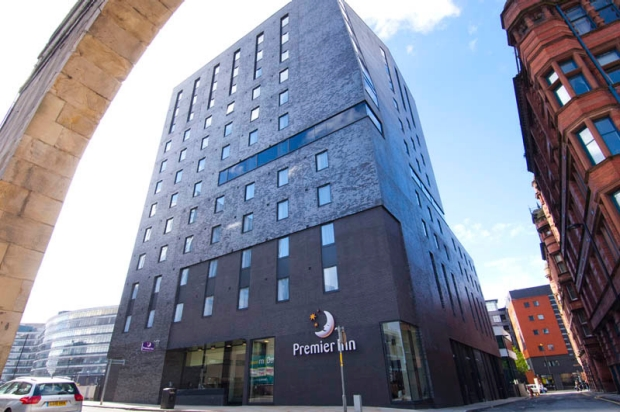 Exterior at Premier Inn Manchester City (Piccadilly) hotel