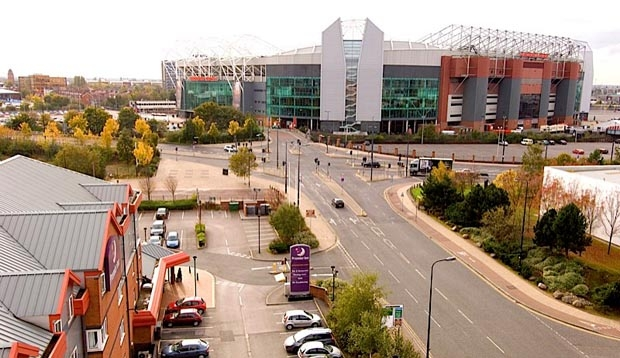 Surrounding area at Premier Inn Manchester Old Trafford hotel