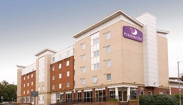 Exterior at Premier Inn Manchester City Centre (Deansgate Locks) hotel