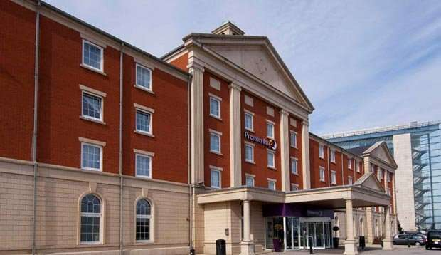 Exterior at Premier Inn Manchester Trafford Centre West hotel