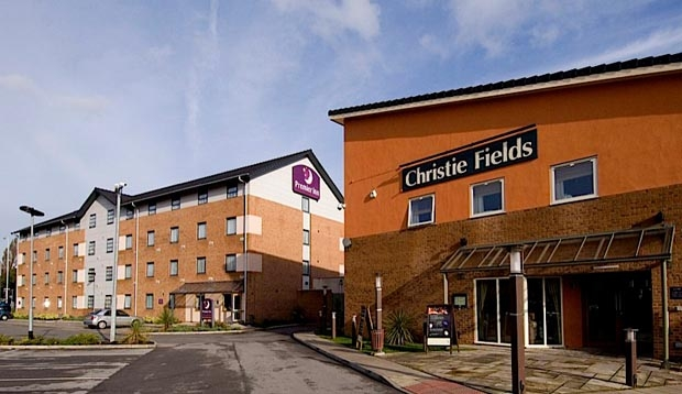 Exterior at Premier Inn Manchester West Didsbury hotel