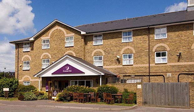 Exterior at Premier Inn Margate hotel