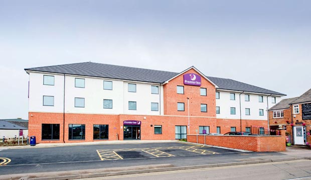 Exterior at Premier Inn Melton Mowbray hotel