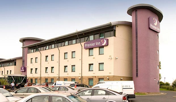 Exterior at Premier Inn Newcastle Airport hotel