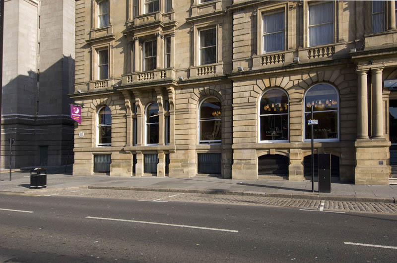 Exterior at Premier Inn Newcastle Quayside hotel
