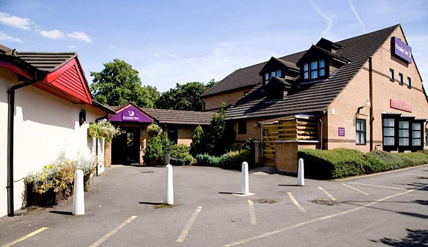 Outside Premier Inn Northampton South (Wootton) hotel