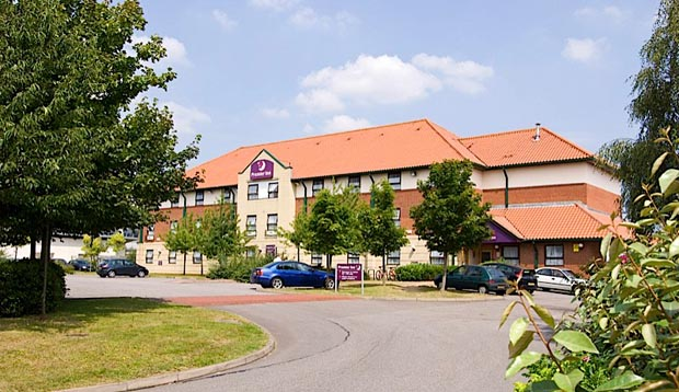 Exterior of Premier Inn Oxford