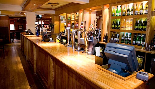 Bar at Premier Inn London Rainham