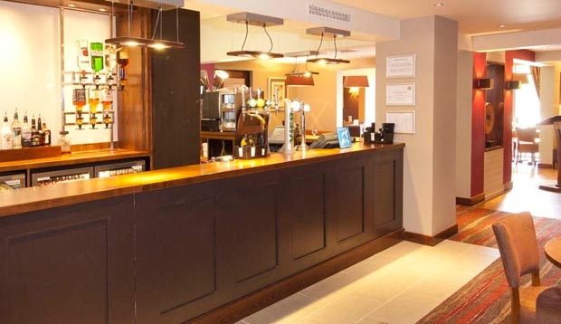 Bar at Premier Inn Rochester