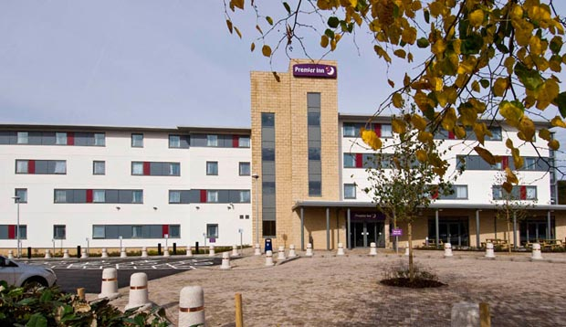 Surrounding area at Premier Inn Rochester
