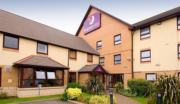 Exterior of Premier Inn Rugby North (M6 Jct1)