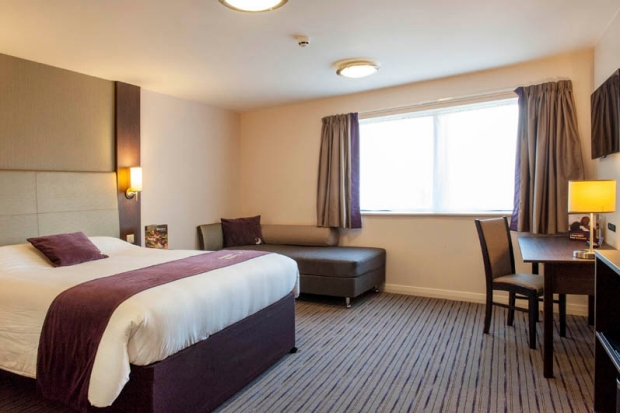 Family room at Premier Inn Trowbridge