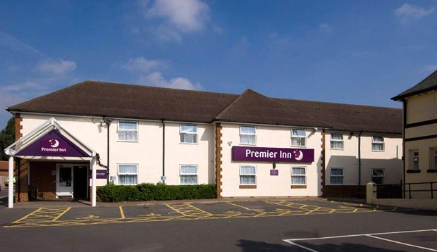 Exterior at Premier Inn London Twickenham Stadium showing car park