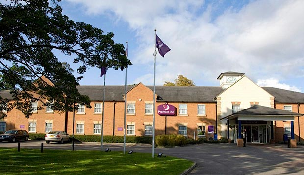 Exterior of Premier Inn York North