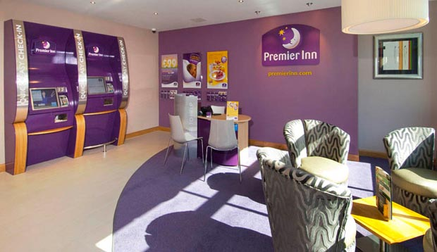 Reception at Premier Inn York City (Blossom St South)