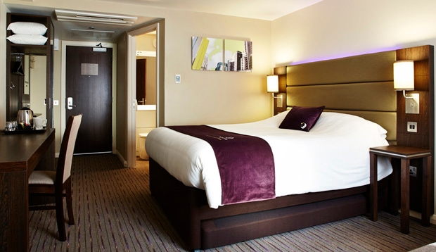 Premier Inn double room with en-suite