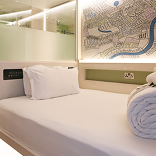 Cleverly designed rooms in the heart of the city